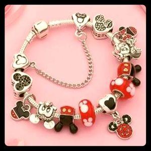 Jewelry - Mickey Mouse Charm Bracelet